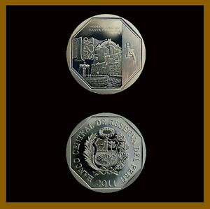 Peru 1 Nuevo Sol Coin, 2011 KM# 346 Comm. Monastery of Santa Catalina Unc
