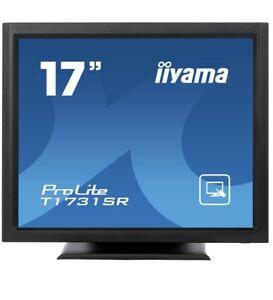 "iiyama 17"" ProLite T1731SR-B1 Touch Screen Monitor With DVI-D Input POS Monitor"