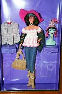 2005 Anna Sui Boho Barbie Doll Limited Collection Fashion Runway Gold Label Doll