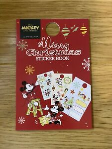 PRIMARK Disney Mickey Mouse Christmas Present Gift Sticker Stick On Labels Tags