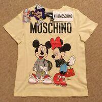 H&M moschino Xs extra small Disney T-shirt shirt top jersey Jeremy scott mickey