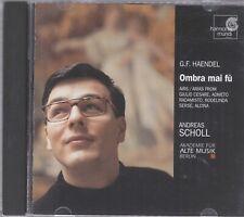 Andreas Scholl - Handel: Ombra mai fu - Andreas Scholl cd