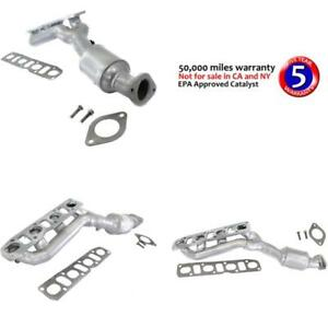 Catalytic Converter for 04-12 Nissan Titan Front, Passenger Side