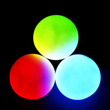 LED Juggling Balls Color changing fade flash acrylic glowing EDM Flow Toy