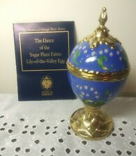 New listing House Of Faberge Tchiakovsky Dance Of The Sugarplum Fairy Musical Egg + box