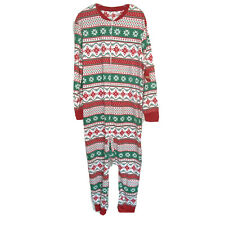 Jammies For Your Families 1-Piece Christmas Sleepwear Mens Size Large
