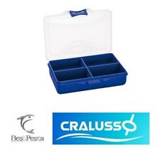CRALUSSO TACKLE BOX 4 COMPARTMENTS