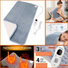 """Diwenhouse Heating Pad for Fast Pain Relief Electric Heating Pads 18""""x36"""""""