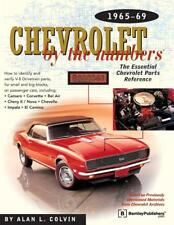 Chevrolet by the Numbers 1965-69~Identify & Verify Parts #s~Blueprints~NEW