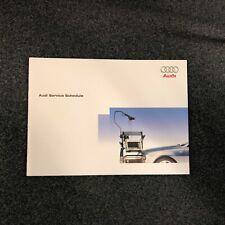 AUDI SERVICE BOOK A1 A2 A3 A4 A5 A6 A7 Q2 Q3 Q5 Q7 ALL MODELS 100% ORIGINAL