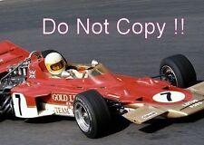 John Miles Gold Leaf Team Lotus 72 Austrian Grand Prix 1970 Photograph