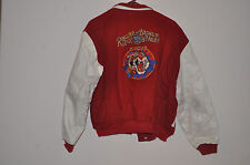 RINGLING BROS AND BARNUM & BAILEY CIRCUS Letterman Jacket L with Leather 1986