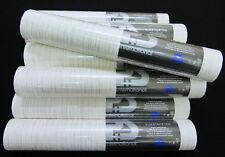 13193-20-) 10 Rollen moderne Vliestapeten creme - weiss + silber - gestreift