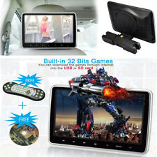 "10.1"" HD LCD Car Headrest DVD/CD FM Game Player Built-in USB port/SD Card Slot"