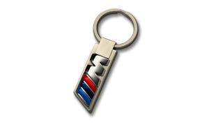 BMW Genuine M Collection Car Key Ring Fob Keychain With BMW M Logo 80272454759