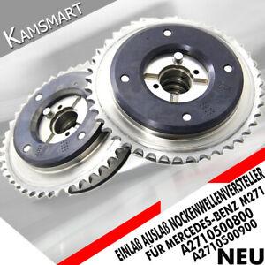 A2710500800 / 900 Für Mercedes M271 Nockenwellenversteller 3-fach gehärtet TOP