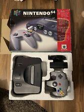 Nintendo 64 N64 Konsole + Original Controller Und Verpackung, Pal OVP