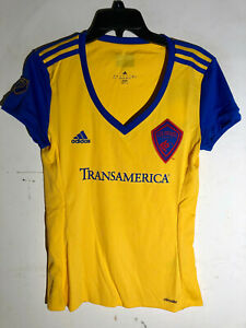 Adidas Women's MLS Jersey Colorado Rapids Yellow Team sz 2XL