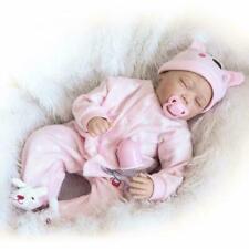 Simulation Baby Weiche Silikon Baby Baby Tuch Körper Spielzeug Spielen Haus O4X9