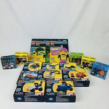 Make-It Blocks Building Block Lot of Cars Figurines & Reusable Stickers
