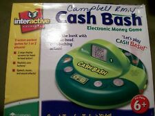 Interactive Electronics Cash Bash Electronic Money Game + AC Adaptor