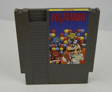 Dr. Mario Nintendo NES Game Cleaned Tested Working Ships quick
