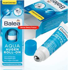 Balea Eye Cream Puffiness Wrinkle Moisturizer Aqua Roll Skin Vitamin B5 E 0.5oz