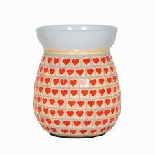 Aromatize Mosaic Electric Wax Melt/Oil Burner - Red Heart