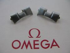 NOS Omega Stainless Steel End Pieces No. 545 x 2 - VERY RARE