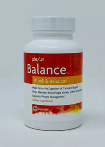 "Plexus BALANCE ""Block & Balance"" 60 Capsules Weight Management Supplement NEW"