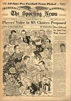 Sporting News Baseball newspaper 12/21/1955, Duke Snider, Brooklyn Dodgers ~ VG