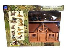 NEWRAY WILD HUNTING PLAY SETS Hunter Cabin and RTV Hunting Set 76015