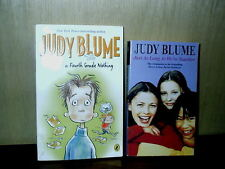 2 Judy Blume Books Tales of Forth Grade Nothing & Just As Long As We're Together