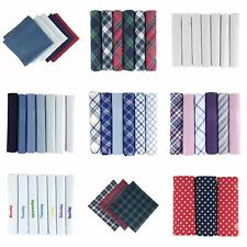 Men's/Gentlemens Handkerchiefs, Various Colours & Styles, 100% Cotton