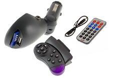 FM Sender Transmitter USB Wireless Musik Spieler SD Fernbedienung Auto KFZ MP3
