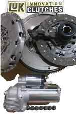 FORD MONDEO 130 TDCI 6 SPEED LUK DUAL MASS FLYWHEEL AND CLUTCH BOLTS CSC STARTER