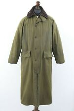 BARBOUR A845 Classic BURGHLEY Waxed Cotton Jacket / Coat Olive C 36 / 91 cm Wax