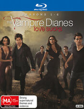 The Vampire Diaries Complete Season Series 1, 2, 3, 4, 5 & 6 blu ray Box Set RB