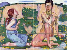 Art Ferdinand Holder Spring Mural Ceramic Backsplash Bath Tile #2098