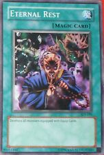 CARTE - CARD YU-GI-OH! ETERNAL REST - SDJ-039 - UK VERSION