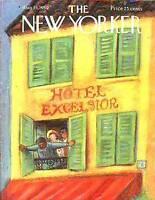 1959 New Yorker Aug 15 - Corner Room at Hotel Excelsior