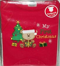 Baby Clothes body suit My First Xmas Tree baby's 6-12 months gift one piece kids