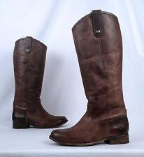 Frye Melissa Button Boot- Ash Brown- Size 6 B  (BX2)
