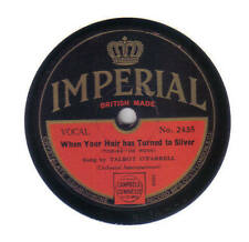 TALBOT O'FARRELL - Your Hair Has Turned To Silver + JACK BURKE 78 rpm disc (A+)