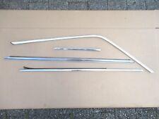 FIAT 850 COUPE Ornamentali Barra Mascherina türschachtleiste barra porta destra 4 pezzi
