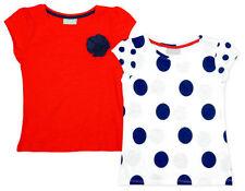 Vêtements rouge pour fille de 2 à 16 ans en 100% coton