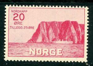 Norway 1930 Tourist Association Fund 20 Ore + 25 red SG 224 UM/MNH