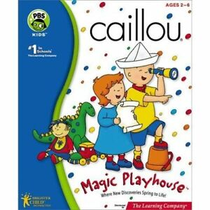 The Learning Company Caillou - Magic Playhouse