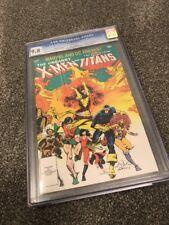 MARVEL & DC PRESENT THE X-MEN AND TEEN TITANS #1. CGC 9.8