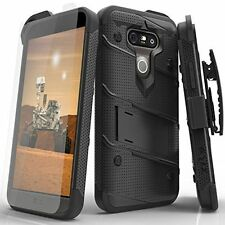 LG G5 Case Cover Screen Protector Clear Waterproof Kickstand Holster Belt Clip